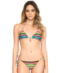 Printed Brazilian swimsuit with tassels - NEW ROLOTE VOLPI