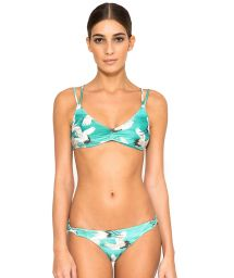 Sports bra bikini with bird print - TIRAS CRUZADAS NAOMI