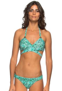 Bikini reversibile top incrociato - AQUA SKIN