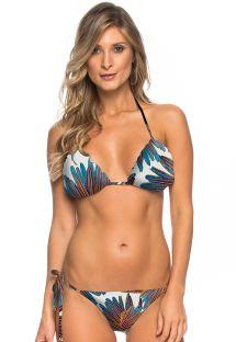 Bikini brasileño scrunch estampado - ARACAJU