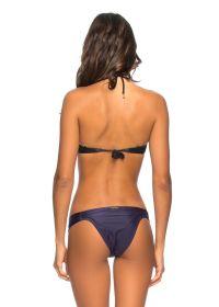 Midnight blue underwired balconette bikini - LAYSLA