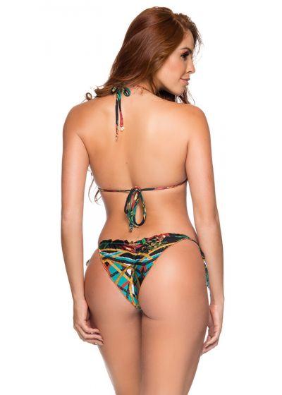 Färgglad bikini med vågiga kanter - RIPPLE MOSAIC