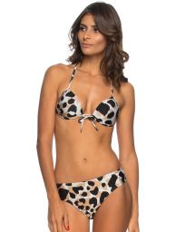 Animal pattern push-up bikini - SUL DO BRASIL