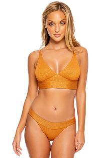 CROSS BANDED LULI DIVA BRONZE