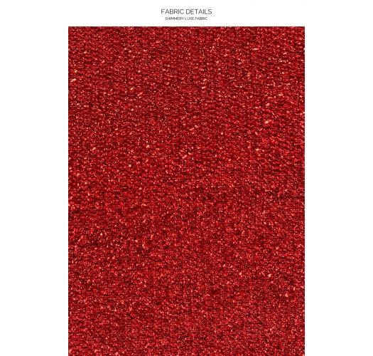 HALTER STARDUST RED