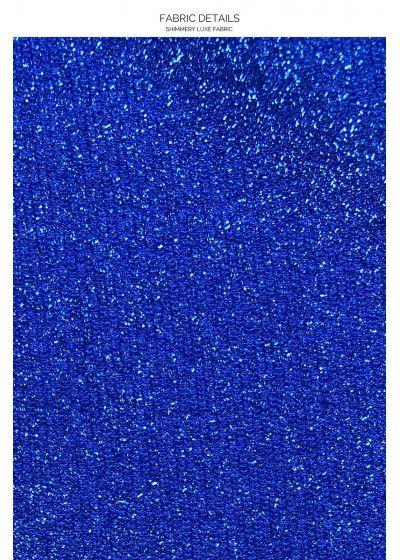 HALTER STARDUST ROYAL BLUE