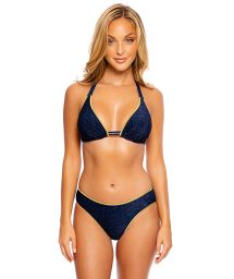 LUXE STITCH PEEK A BOO STARDUST MIDNIGHT BLUE