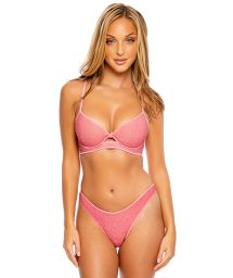 LUXE STITCH PEEK A BOO STARDUST ROSE PINK