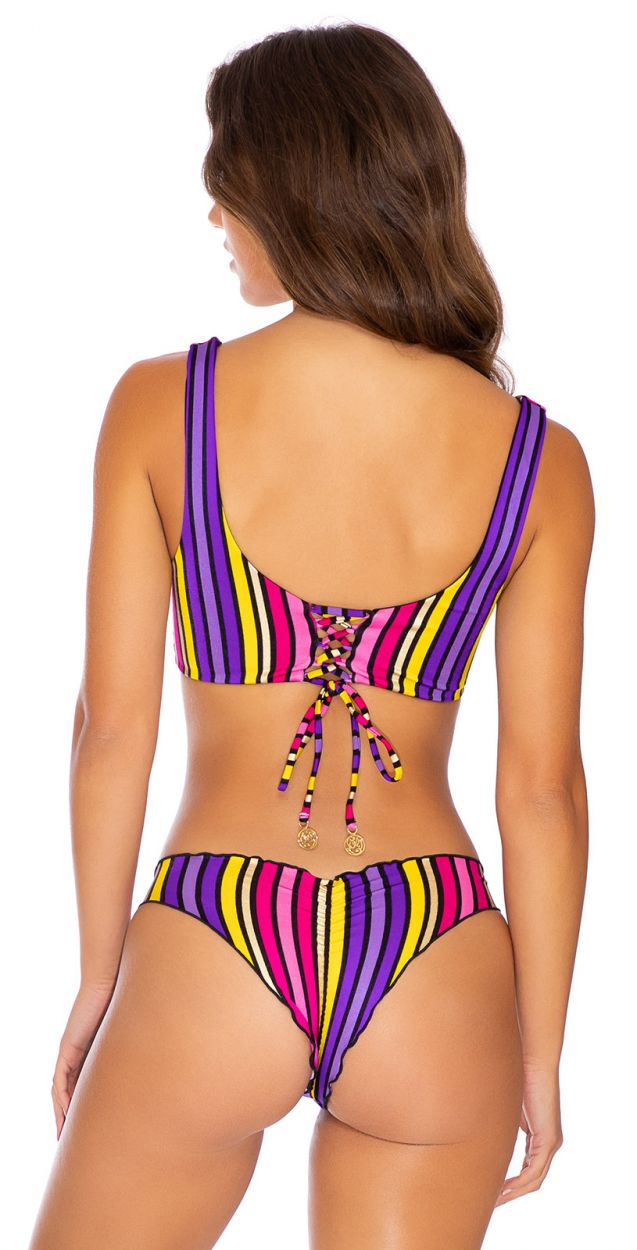 PARTY RUCHED MULTICOLOR