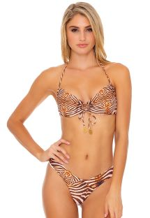 REVERSIBLE HALTER SAFARI DREAMS