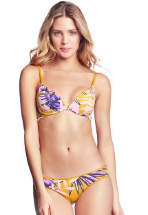 Reversible fixed yellow Brazilian bikini - FARRAH´S LOVELY