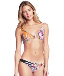 Printed bra bikini with adjustable straps - FORTALEZA VICTORY