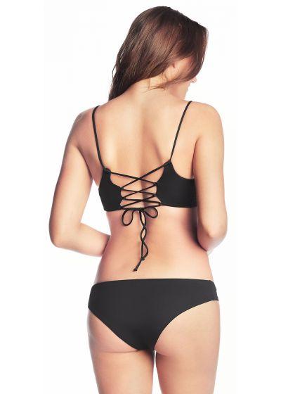 Vändbar, tryckt bikini- bh med band - METEORITE DUNES