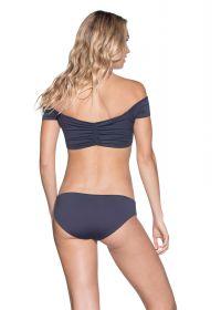 Reversible off-the-shoulder bra bikini - MOONLESS NIGHT