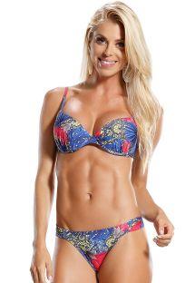 Bikini balconette con Aro  estampado floral - DUQUE