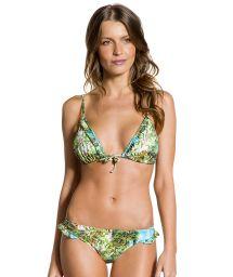 Bikini triangle tropical bords à volants - FRUFRU PARAISO TROPICAL