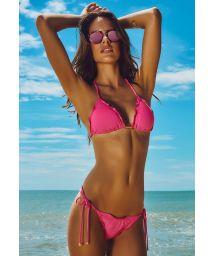 Pink Brazilian scrunch bikini - RIVIERA