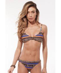 Accessorized ethnic bra bikini - AMBRA NOZINHO