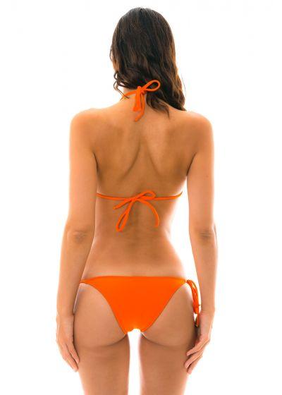 Tangerine-orange brasiliansk bikini - LACINHO KING