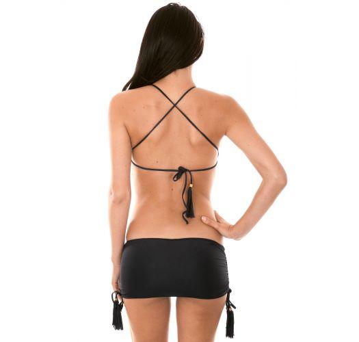Bikini typu bandeau - AMBRA JUPE BLACK