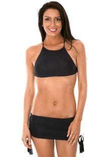 Bikinisi bandeau modelde - AMBRA JUPE BLACK