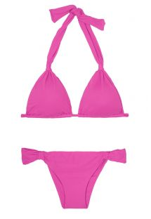 Bikini Brasileño - AMBRA MEL ROSA CHOQUE