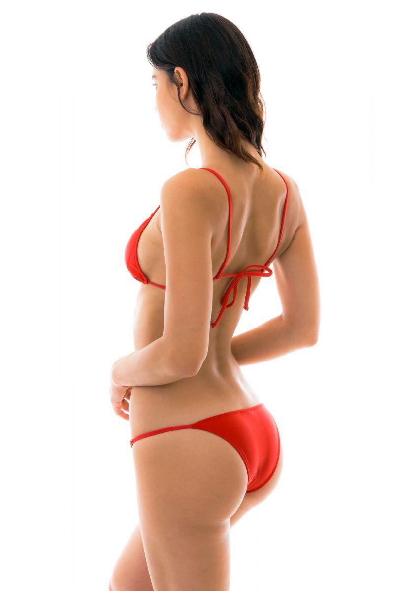 Högröd reglerbar brasiliansk bikini - BEIJO ARG FIXO
