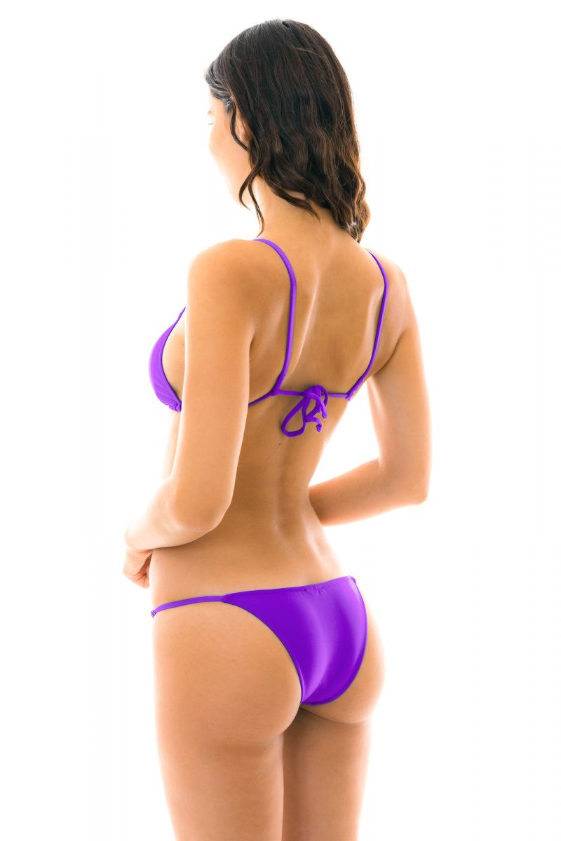 Justerbar lila bikini - FUCHSIA ARG FIXO