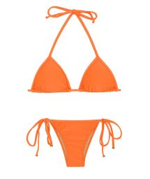 Orange knytbar bikini - ITAPARICA TRI