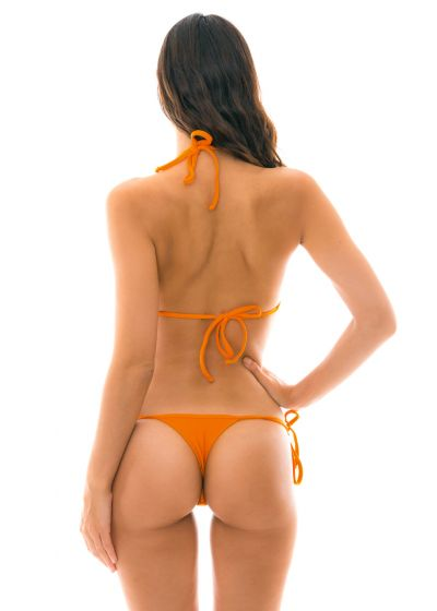 Orange, smyckad string bikini - ITAPARICA TRI MICRO