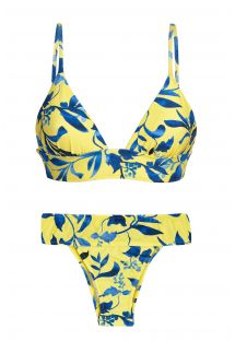 LEMON FLOWER TRI COS