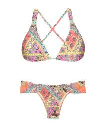 Broad edged and triangle scarf bikini - MUNDOMIX FRANZIDO