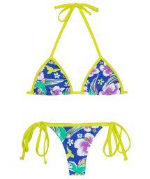 Thong Bikini - PASSARO VERDE