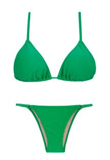 Green adjustable Brazilian bikini - PETER PAN ARG FIXO