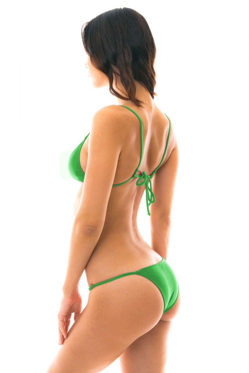 Green adjustable Brazilian bikini - PETER PAN ARG FIXO