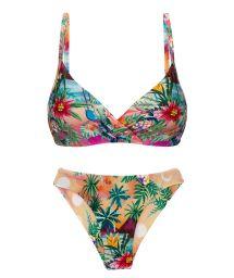 Bikini brassière à armatures tropical coloré - SET SUNSET BALCONET-INV NICE