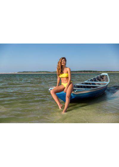 Bandeau-Bikini mit hohem Beinausschnitt - STREGA RETO