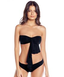 Black multi-position bandeau bikini - BIG RIO
