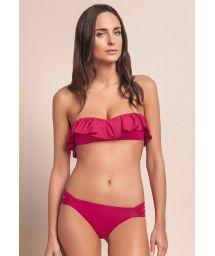 Multi-position, pink floaty bikini - BREATH RUFFLES PINK