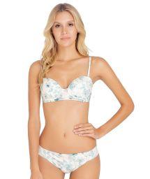 Bikini balconnet floral détails brodés - FREYA BLOSSOM