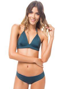 Bikini estampado reversibile triangulo bufand - MACONDO DELILAH