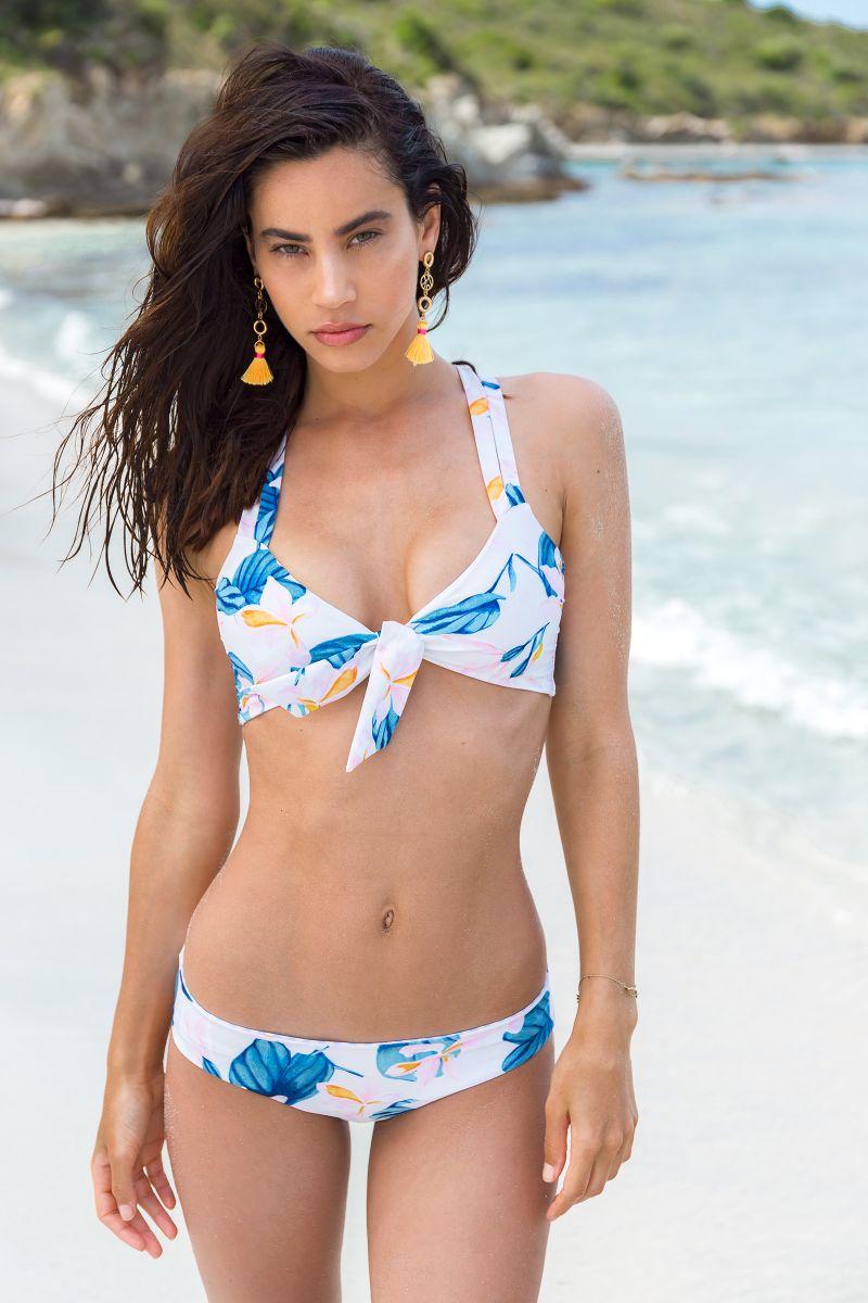 BBS X SAHA - blommig bikini med vändbar nedredel - RIO FLORAL SWEETNESS