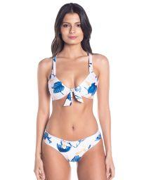 BBS X SAHA - floral bikini with reversible bottom - RIO FLORAL SWEETNESS