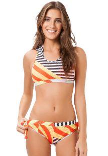 Bikini de desfileSPFW17 con tejido transpirable - BIQUINI WALLS LACINHO FASHION SHOW