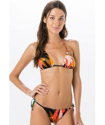Brasilianischer Bikini mit buntem Print - ROLOTE MARAMBAIA
