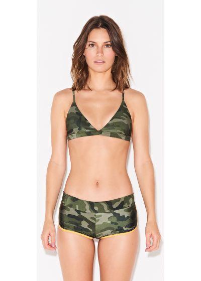 Shorty bikini in camo print - SHORTY CAMOUFLAGE