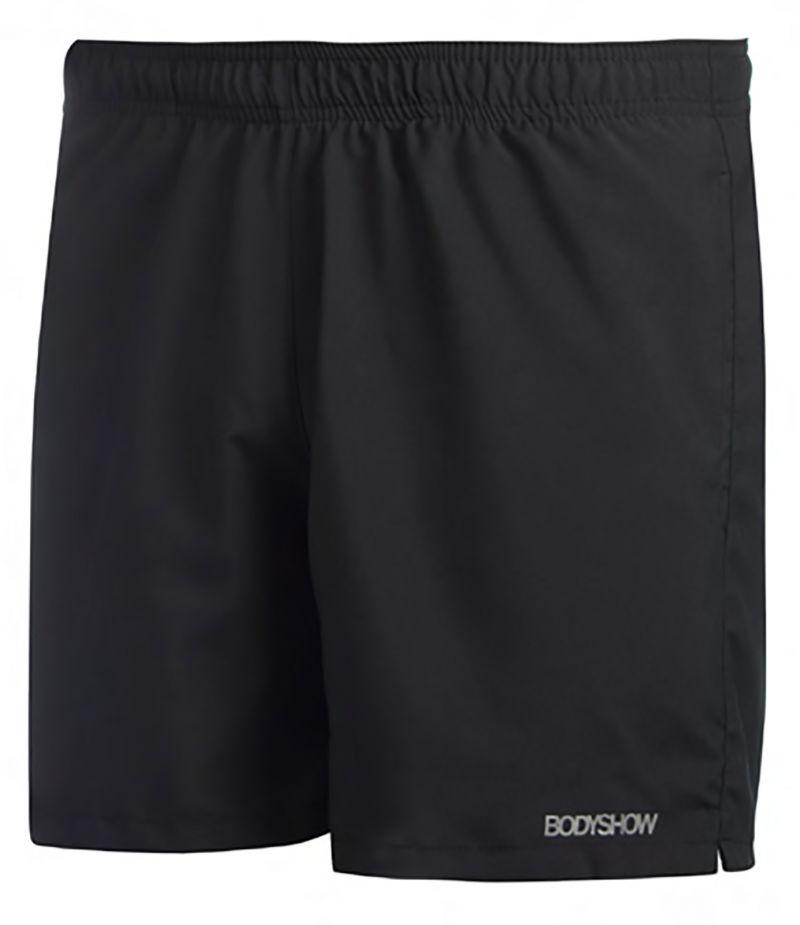 Black swim shorts with elastic waist - SHORTS PRETO