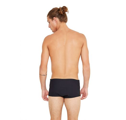 Black plain swim trunks - ESCAMA PRETO