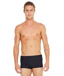 Black plain swim trunks - ESCAMA PRETO