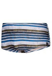 Man swim boxer - striped print - BODYSHOW SUNGA LISTRADA